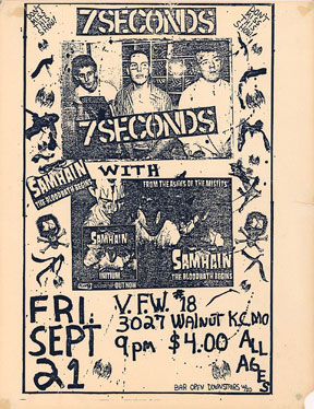 Samhain: Live At The VFW#18 in KC, MO 09-21-8