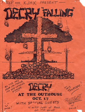 Decry: Live At The Outhouse in Lawrence, KS 10-17-85
